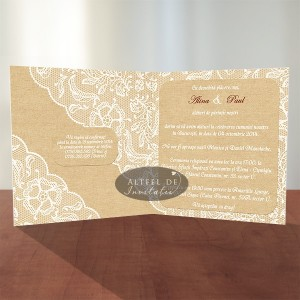 Invitatie nunta Tentatie rafinata 032