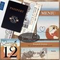 Set Bilet de avion cu pasaport