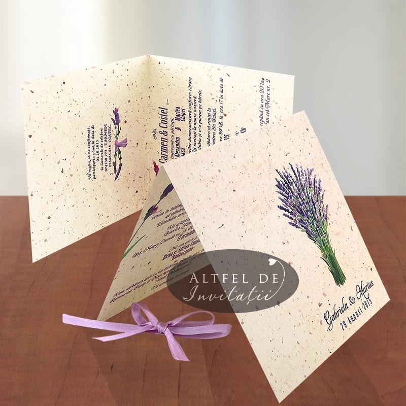 Invitatie de nunta Levantica - altfeldeinvitatii