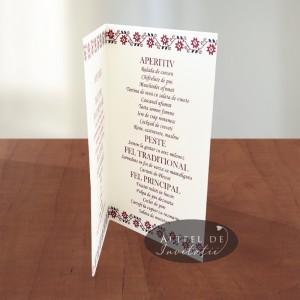Meniu de nunta tema Traditionala