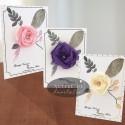 Invitatii nunta Flori de hartie - altfel de invitatii