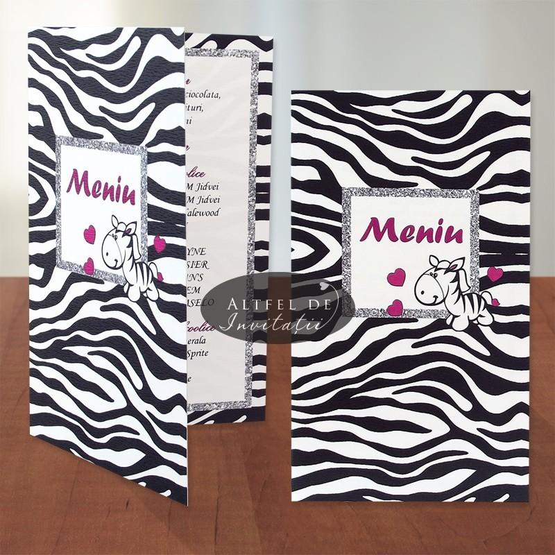 Meniu botez Zebra