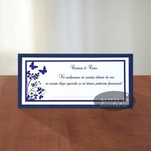 Place card nunta Un nou inceput