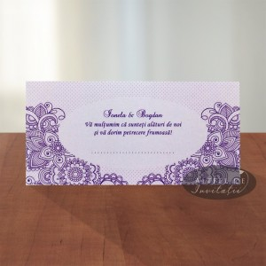 Place card nunta Legamant