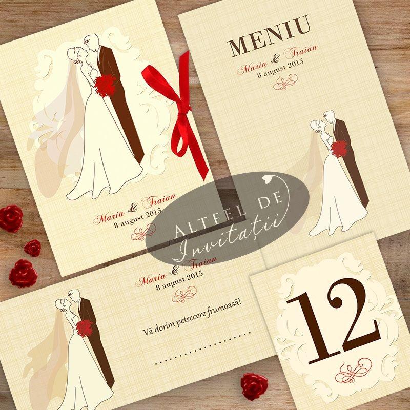 Set nunta Mire si mireasa