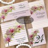 Set complet papetarie nunta Orhidee