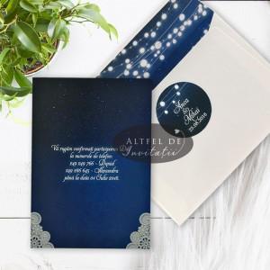 Invitatie nunta Cer instelat si plic special