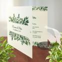 Invitatii nunta Gradina mediteraneana