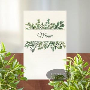 Meniu nunta Gradina mediteraneana