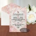 Invitatie de nunta Pictura abstracta