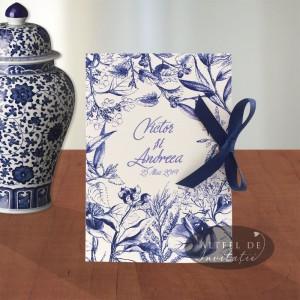 Invitatie nunta Sarutul soarelui albastru_coperta