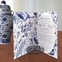 Invitatie nunta Sarutul soarelui albastru_interior