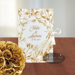 Invitatie nunta Sarutul soarelui_3 culori