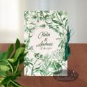 Invitatie nunta Sarutul soarelui verde