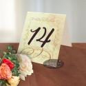 Numar de masa Mesaj handmade