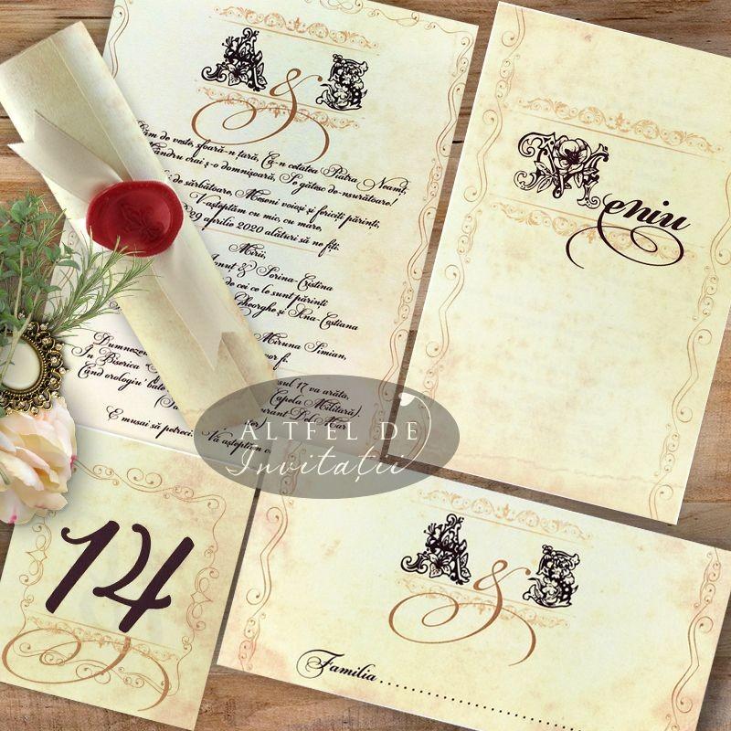 Set complet nunta Mesaj Handmade