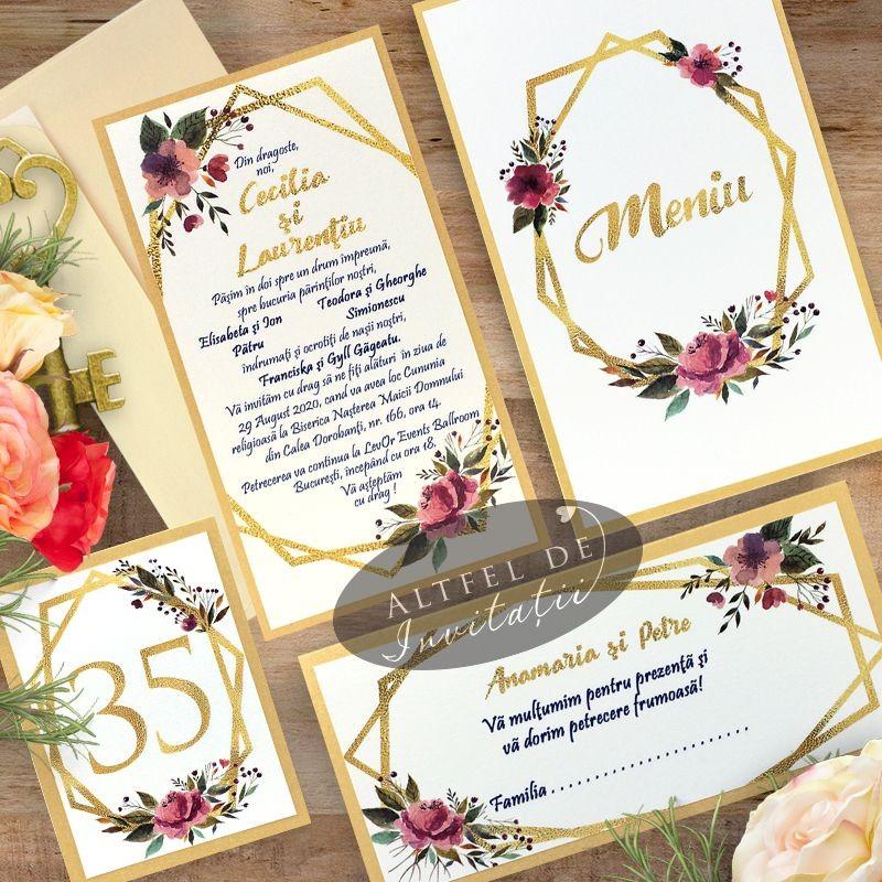 Set complet nunta Apus printre ramuri