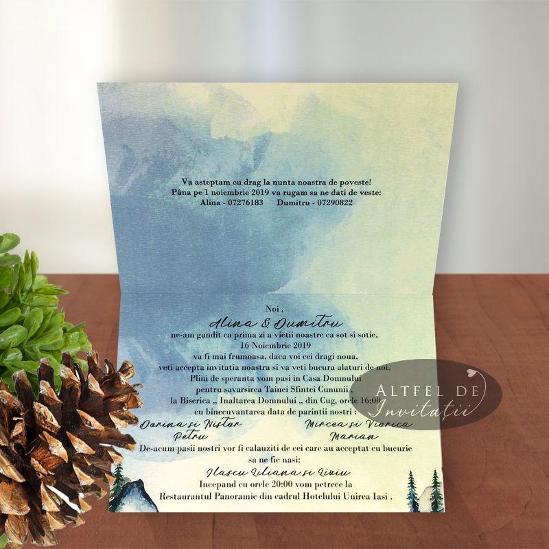 Invitatii de nunta Sentimente
