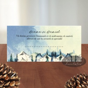 Place card Sentimente