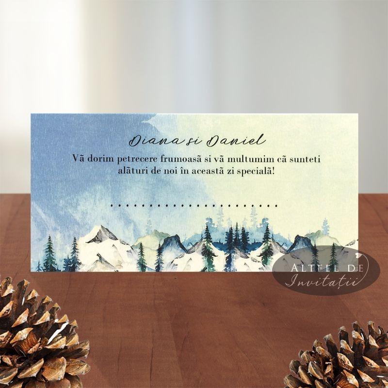 Place card Sentimente
