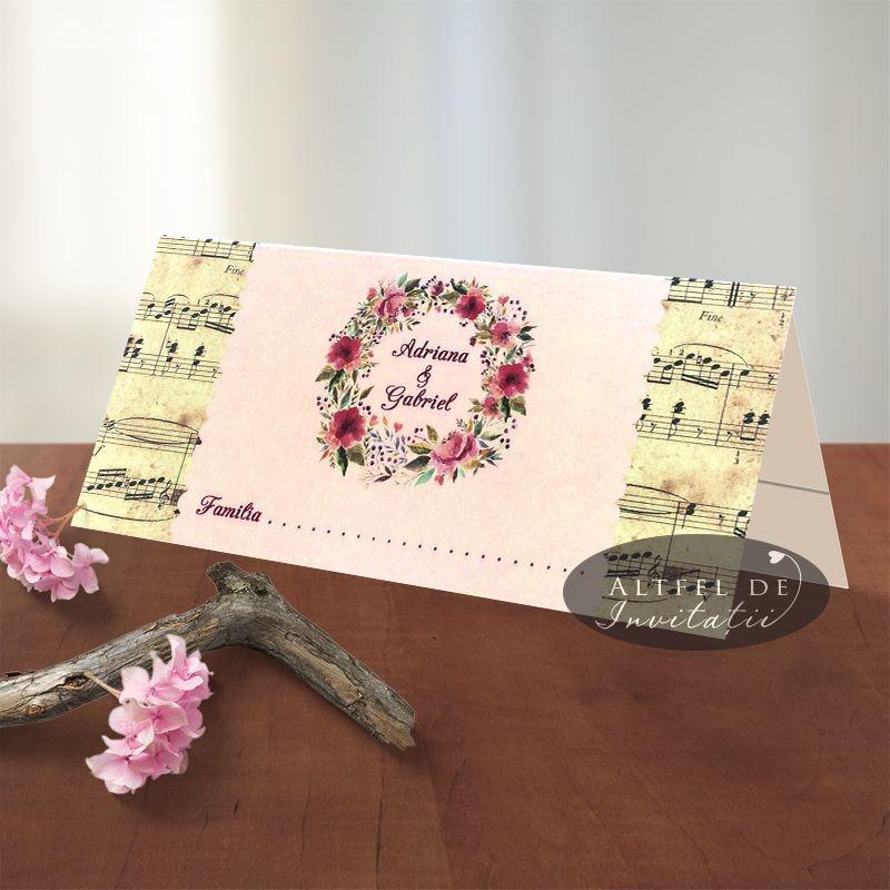 Place card Amintiri dulci