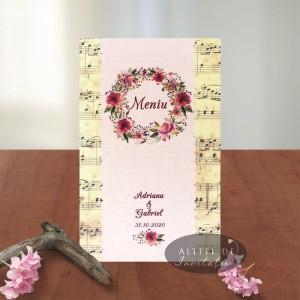 Meniu nunta Amintiri dulci
