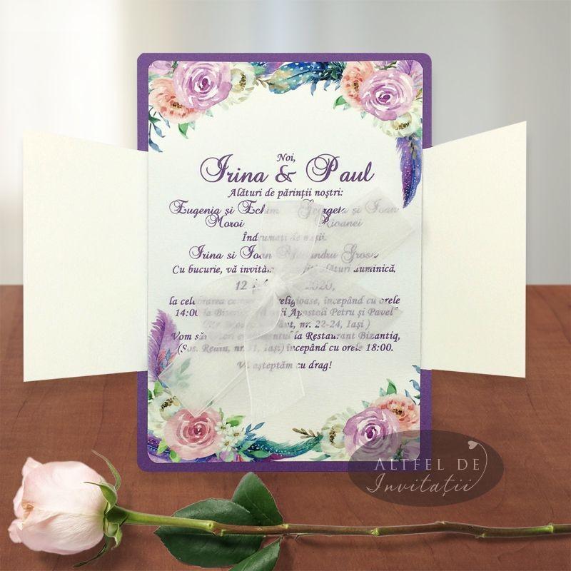 Invitatie nunta Te-am gasit