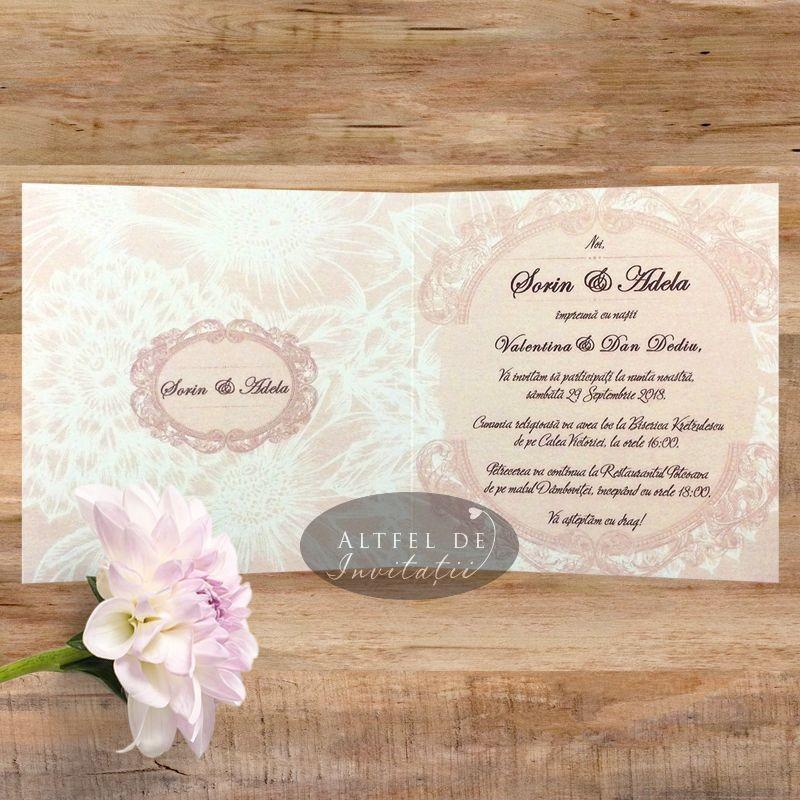 Invitatie nunta Sclipiri de diamant