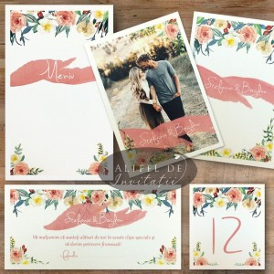 Set complet nunta Poza dragostei