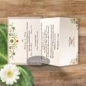 Invitatie nunta Florile dragostei nude