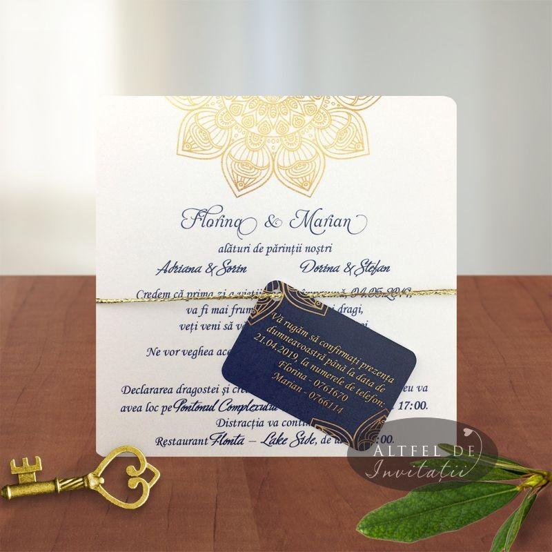 Invitatie nunta Mandala