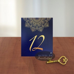 Numar de masa Mandala