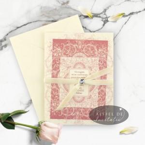 Invitatie Concept nobiliar in plic