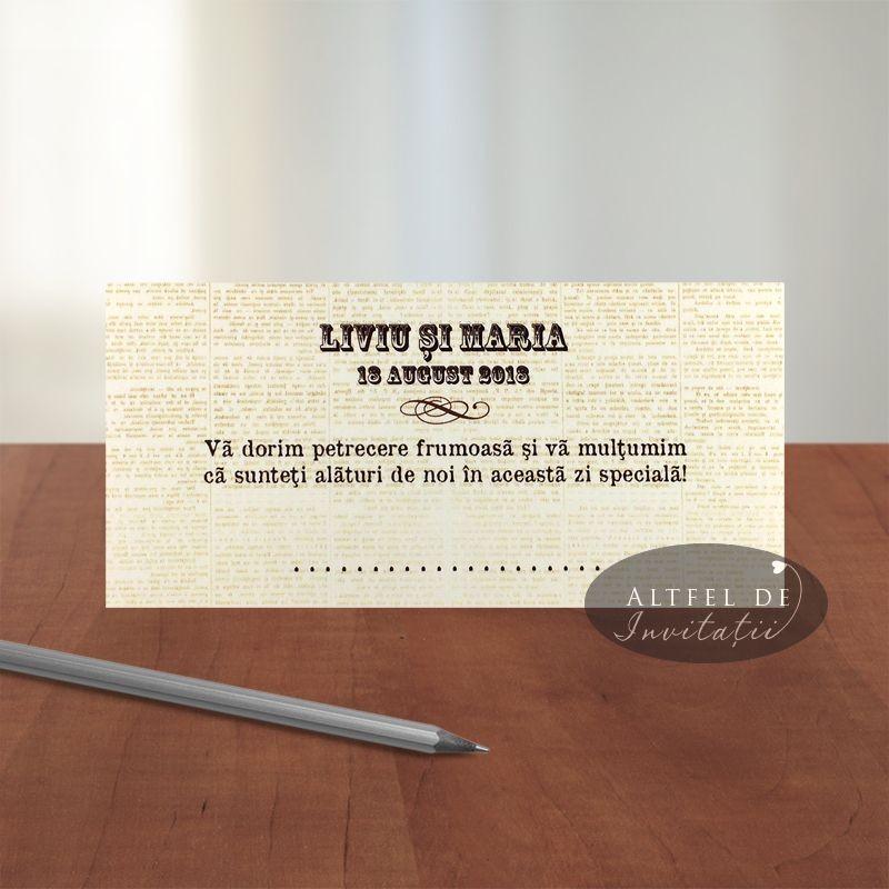 Place card - plic de bani - Stiri Mondene