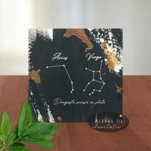Invitatie nunta Constelatii
