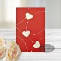 Felicitare Inimi cod: C02 - ideala pentru Valentine day - ziua indragostitilor