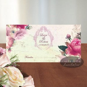 Place card Suras diafan