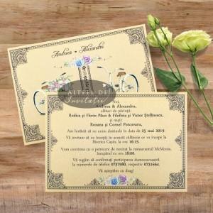 Invitatii nunta Maraton pe bicicleta
