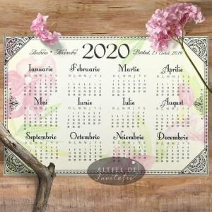 Marturie Calendar