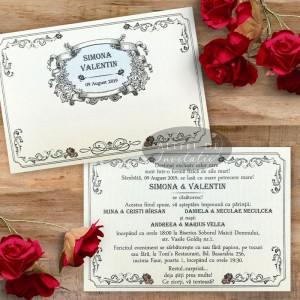 Invitatie nunta Motorul iubirii