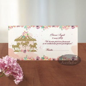 Place card botez Caluti