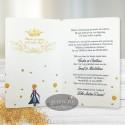 Invitatie botez Micul print