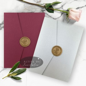 Invitatie nunta Sigiliul timpului