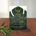 Invitatie nunta Natura Verde