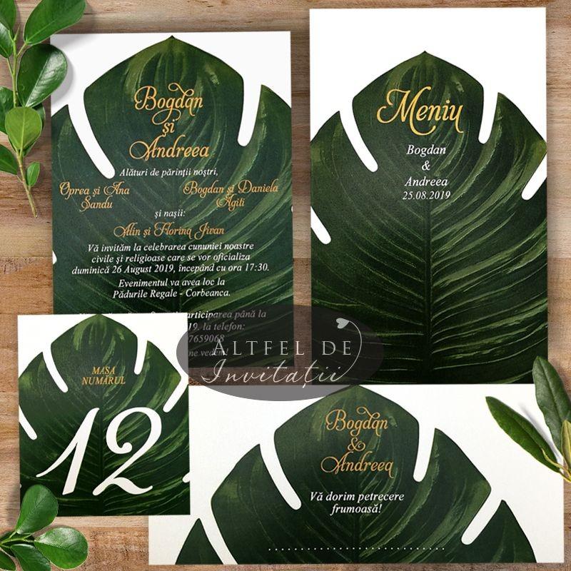 Set complet nunta Natura Verde