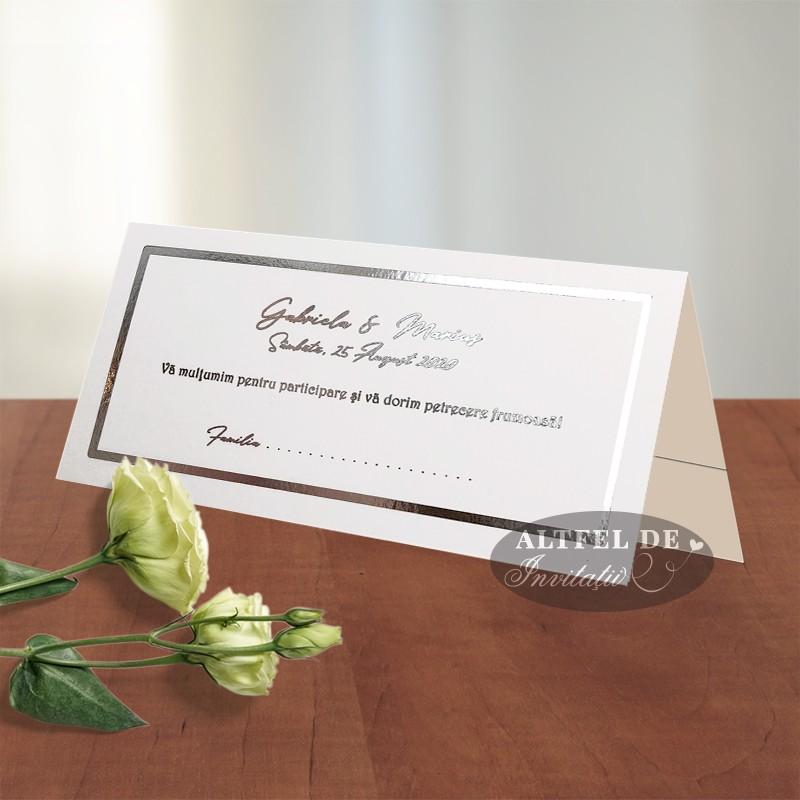 Place card cu folio Privirea ta