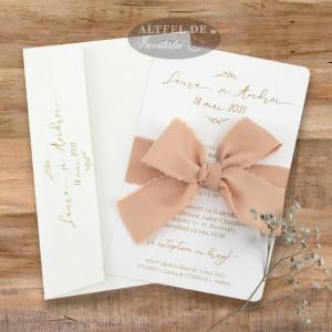 Invitatie nunta Fara ezitare