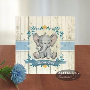 Invitatii botez Elefantel