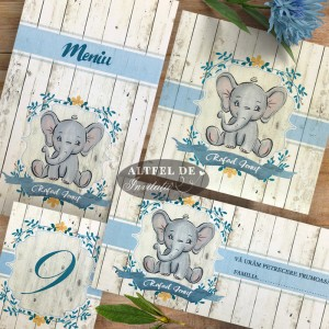 Set complet botez Elefantel