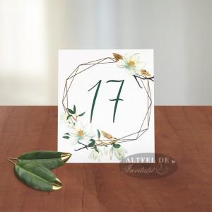 Numar de masa Parfum de magnolie